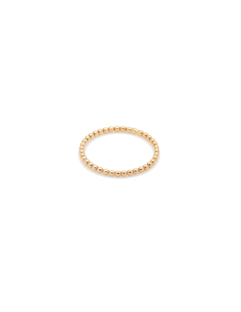 gold halo ring  by may hofman jewellery