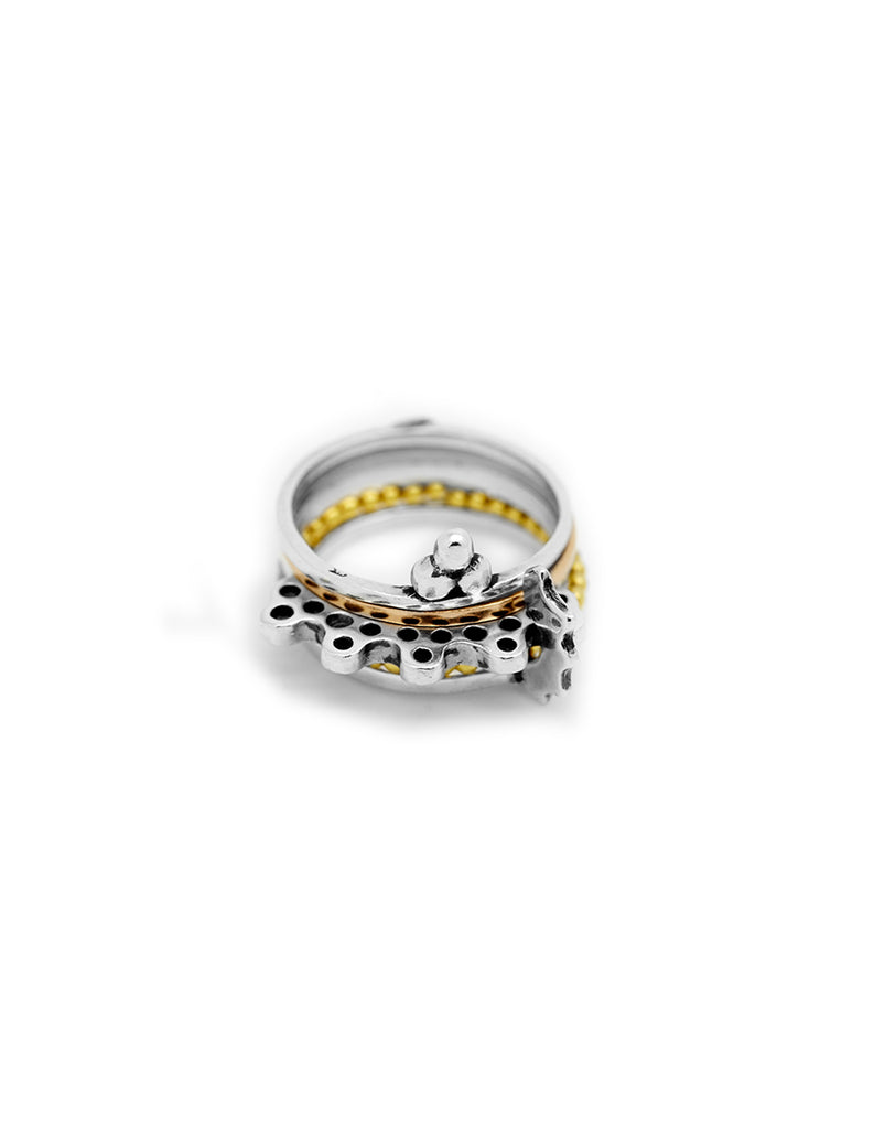 stacking rings collection may hofman jewellery