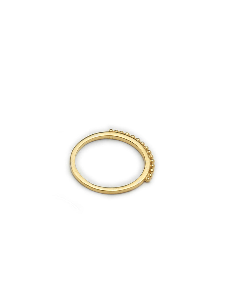 Gold Orb ring by May Hofman Jewellery