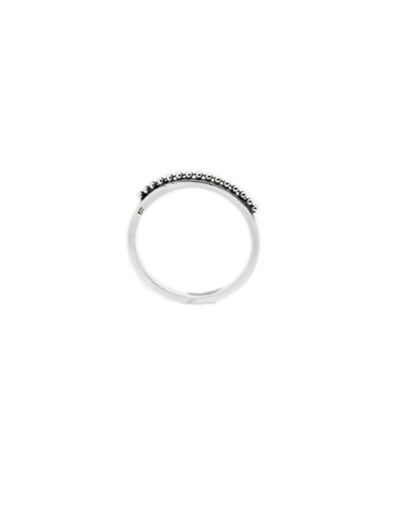 silver orb ring may hofman jewellery