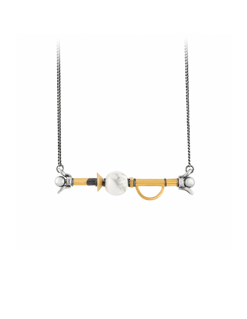 XY Necklace by may hofman jewellery