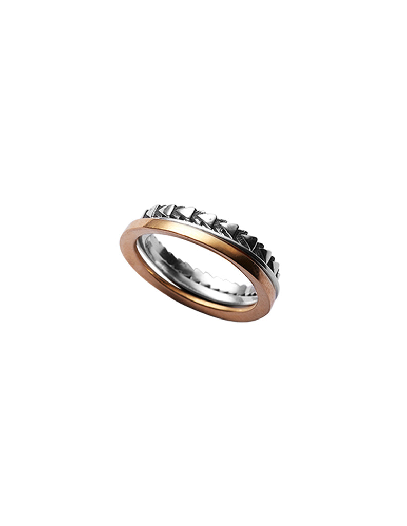 XY Stacking ring set by May Hofman Jewellery