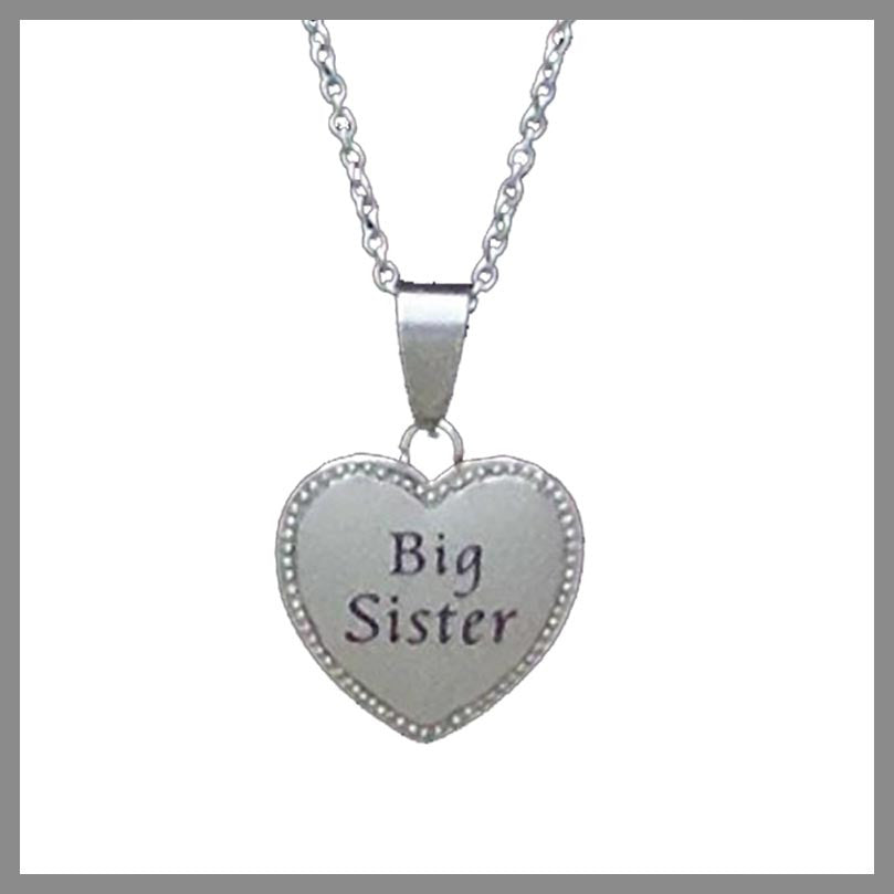 SS Word Charm Necklaces