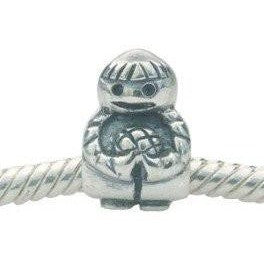 European charm sterling silver bead little boy - Beads and Dangles