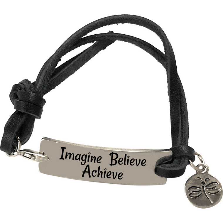 Imagine Believe Achieve - Beads and Dangles