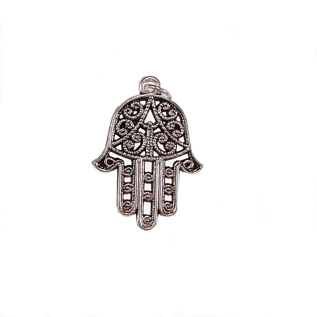 Charm to Add to Expandable Bangle Bracelet Hamsa Hand - Beads and Dangles