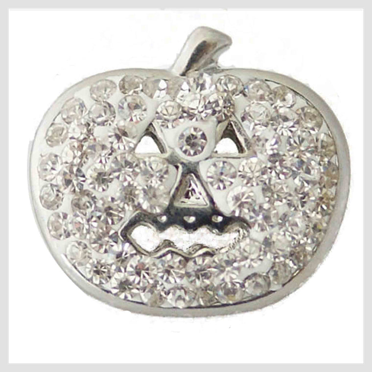 "Halloween Pumpkin Clear Crystals 20mm 3/4"" - Beads and Dangles"