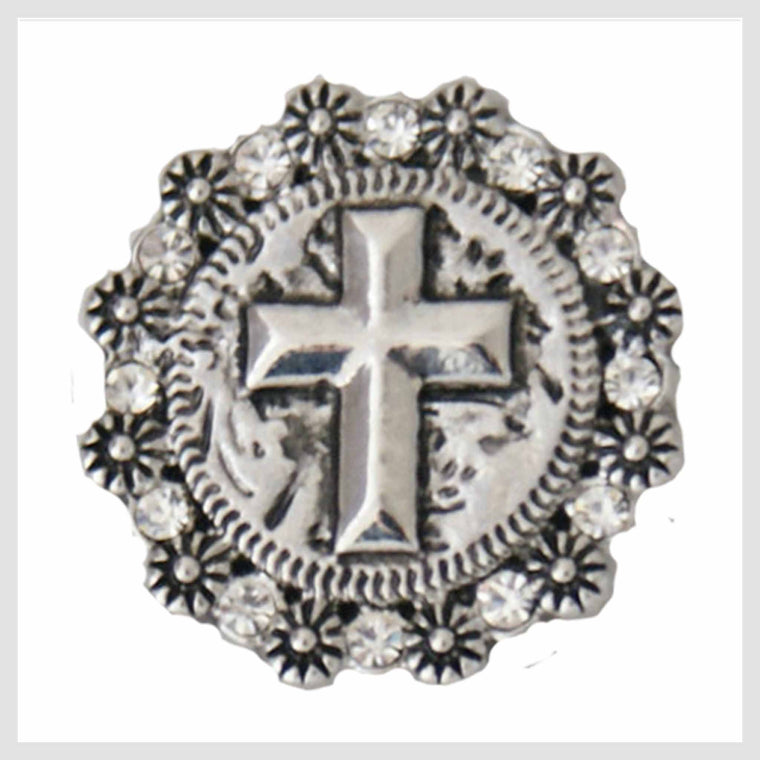 "Cross 20mm 3/4"" - Beads and Dangles"