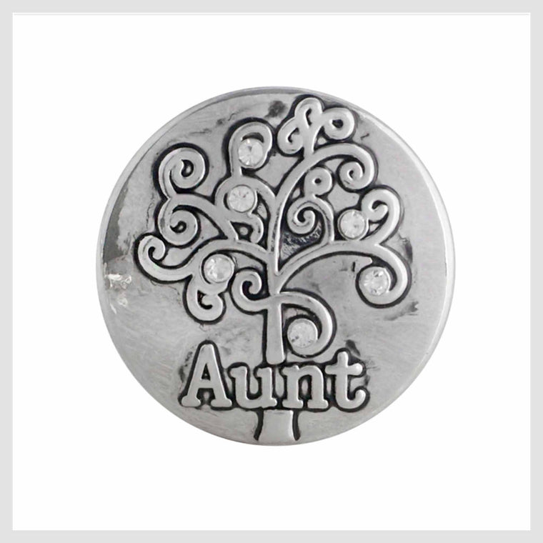 "Aunt Family Tree 20 mm 3/4"" - Beads and Dangles"