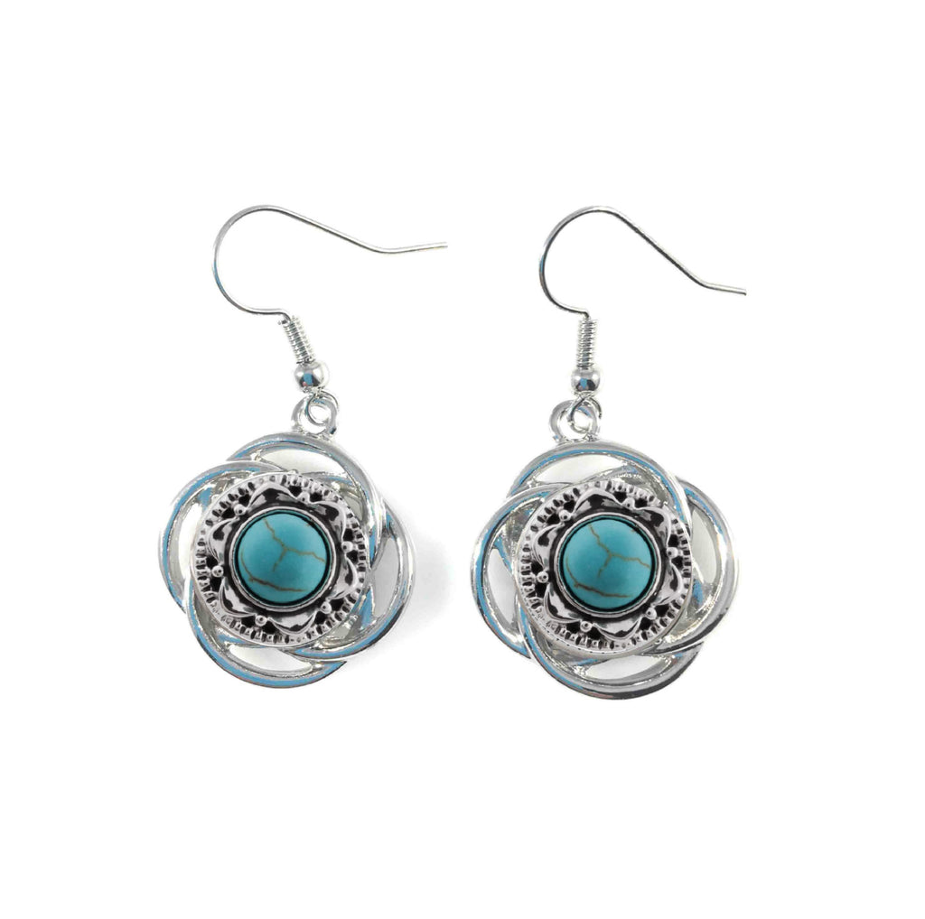 Drop Earrings for Mini 12 mm Includes Snaps Shown (SET-1)