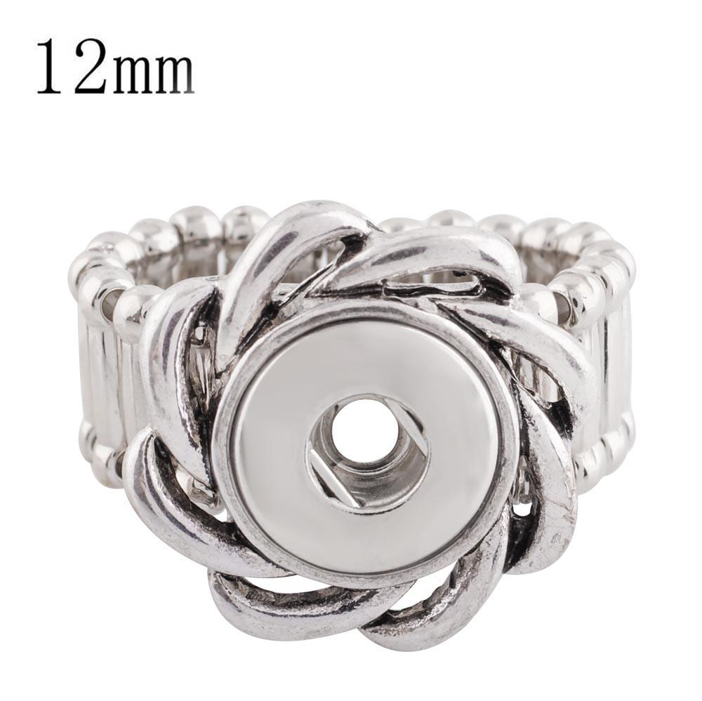 Stretch Ring Includes 3 Snaps 12mm Mini