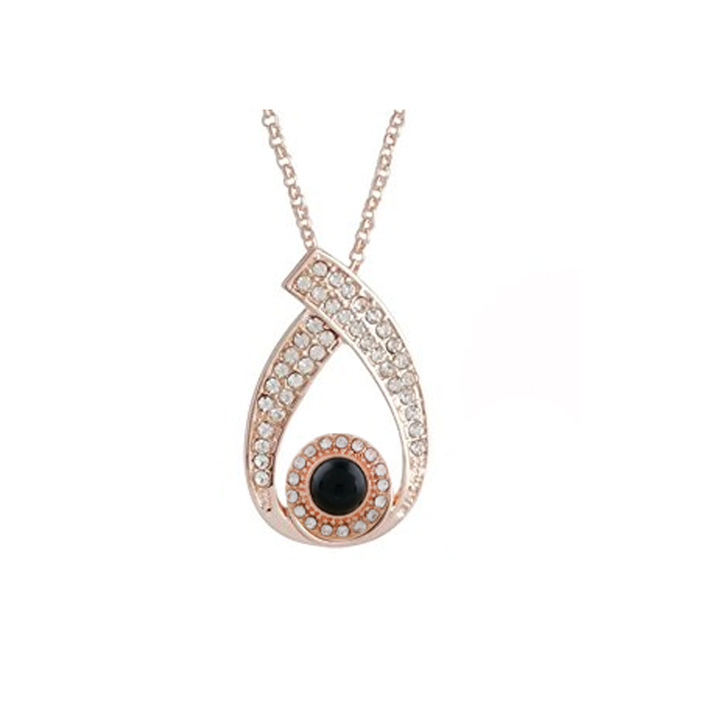Rose Gold Pendant Includes 1 Snap 12mm Mini - Beads and Dangles