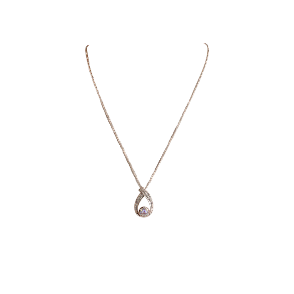 Rose Gold Pendant for 12MM Mini Snaps - Beads and Dangles