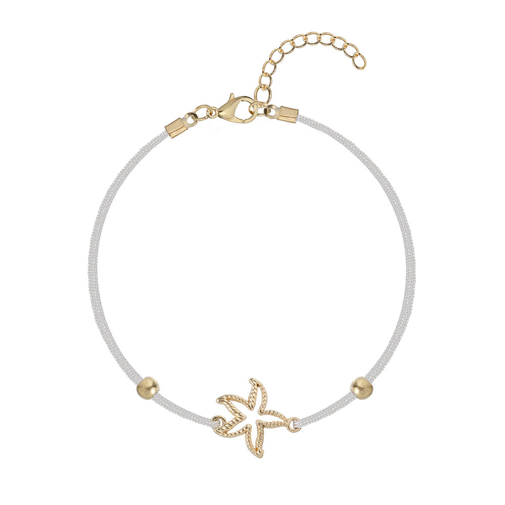 Dragonfly Starfish Bracelet Set of 5