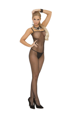 Criss Cross Back Bodystocking - Queen Size