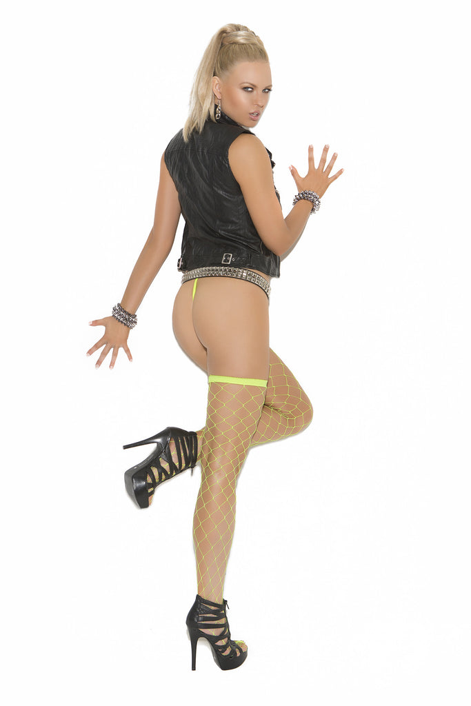 Big Diamond Net Thigh Hi - Queen Size