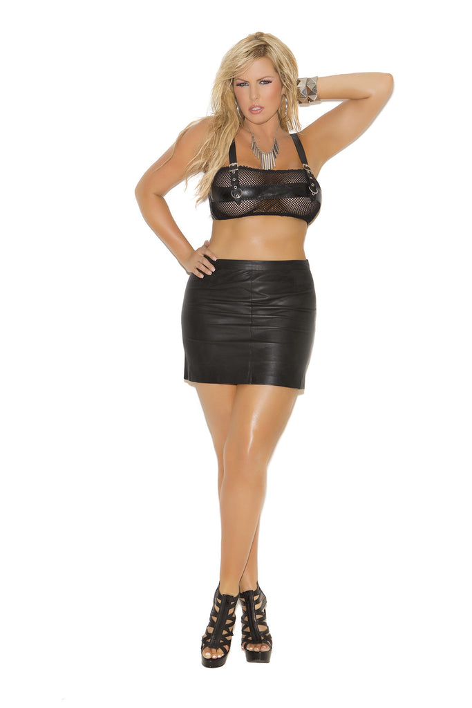 Leather Top - Queen Size
