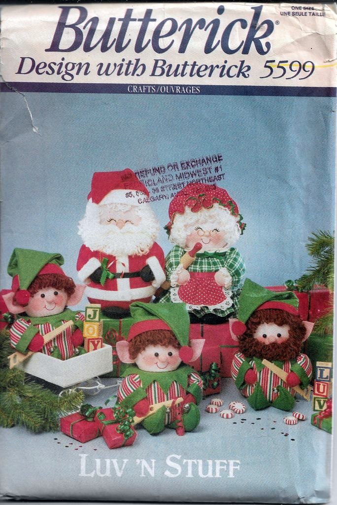 Christmas Vintage Craft Patterns