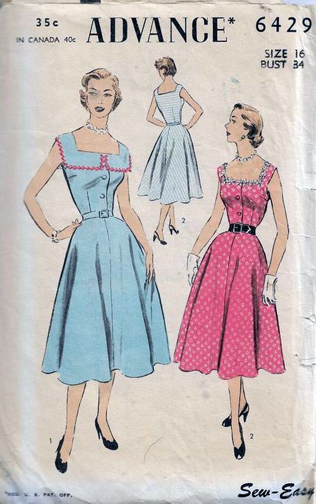 Vintage Advance Patterns