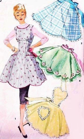 vintage apron sewing patterns vintagestitching