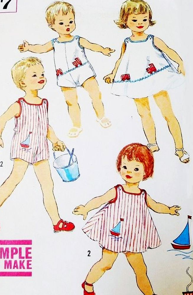 Childrens Vintage Patterns
