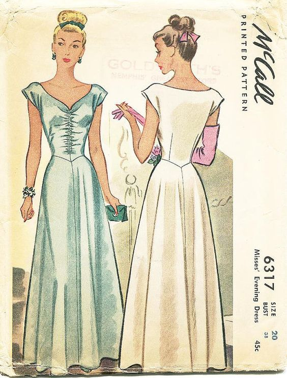 All Ladies Vintage Sewing Patterns