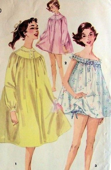 Vintage Pajamas & Robes Patterns