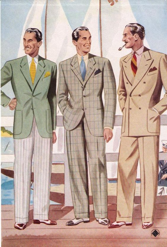 Mens Vintage Patterns
