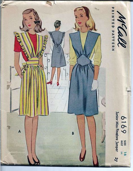 vintage sewing pattern 1940s ladies vintagestitching.com