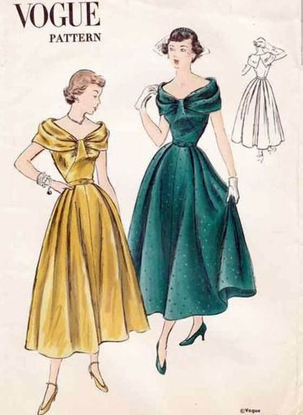 vintage sewing patterns vogue VintageStitching.com