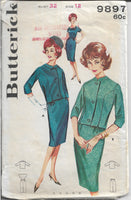 dress jacket skirt butterick 9897