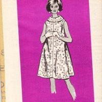 Mail Order 4885 Vintage Sewing Pattern Ladies Dress Wide Collar - VintageStitching - Vintage Sewing Patterns