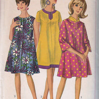 Simplicity 7150 Vintage 1960's Sewing Pattern Ladies Mod Maternity Dress Bell Sleeves - VintageStitching - Vintage Sewing Patterns