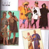 Simplicity 9945 Childrens Assorted Halloween Costume Vintage 1990's Sewing Pattern - VintageStitching - Vintage Sewing Patterns