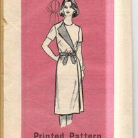 Vintage Mail Order 9260 Sewing Pattern 1960's Ladies Wrap Dress - VintageStitching - Vintage Sewing Patterns