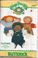 butterick 6508 cabbage patch kids