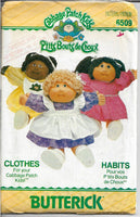 butterick 6509 cabbage patch kids