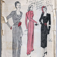 Butterick 4407 Ladies Evening Gown vintage pattern