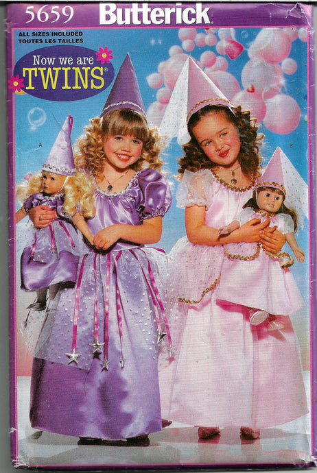 princess costume pattern butterick 5659