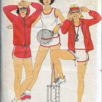 butterick 6101 tennis vintage pattern