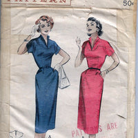 Butterick 6803 Ladies Sheath Dress Vintage Sewing Pattern