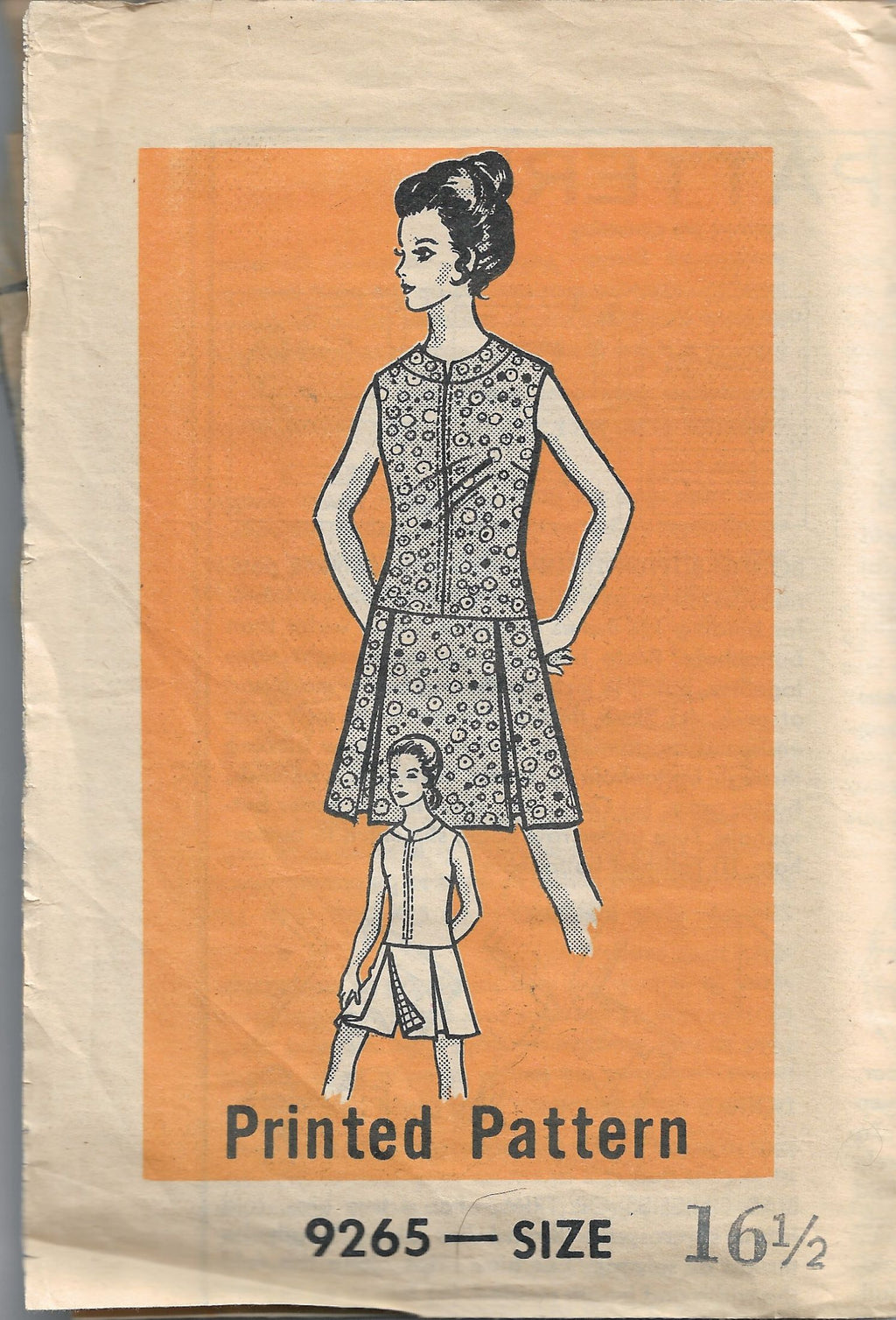 vintage sewing pattern mail order