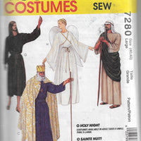 Simplicity 7280 Wise Men Angel Mary Joseph Christmas Costume Pattern