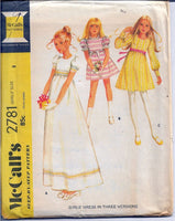 mccalls flower girl dress vintage pattern