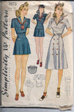sailor playsuit simplicity 3673 1940s