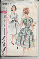 ladies dress simplicity 3829