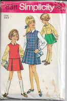 simplicity 8311 jumper dress vintage