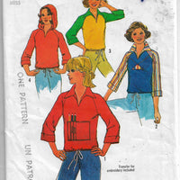 simplicity 7847 vintage pattern pullover