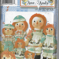 raggedy ann andy pattern simplicity 9447