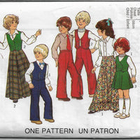 style 2129 childs vintage sewing pattern